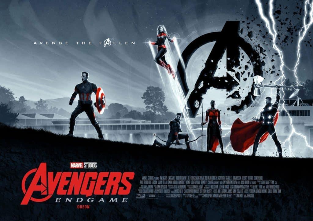 Avengers Affiche pour le cinéma Odeon