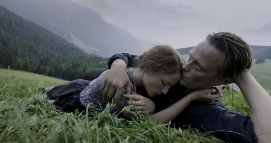 Photo tirée du film de Terrence Malick, Une vie cachée, sélectionné à Cannes