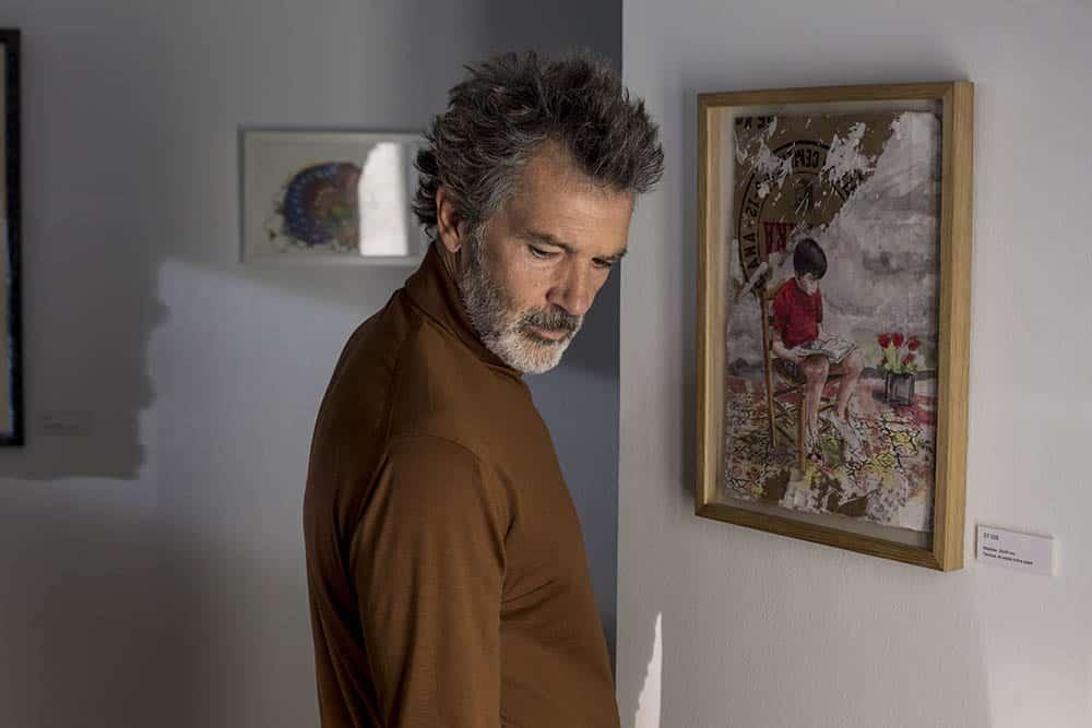Antonip Banderas dans Douleur et gloire, de Pedro Almodovar