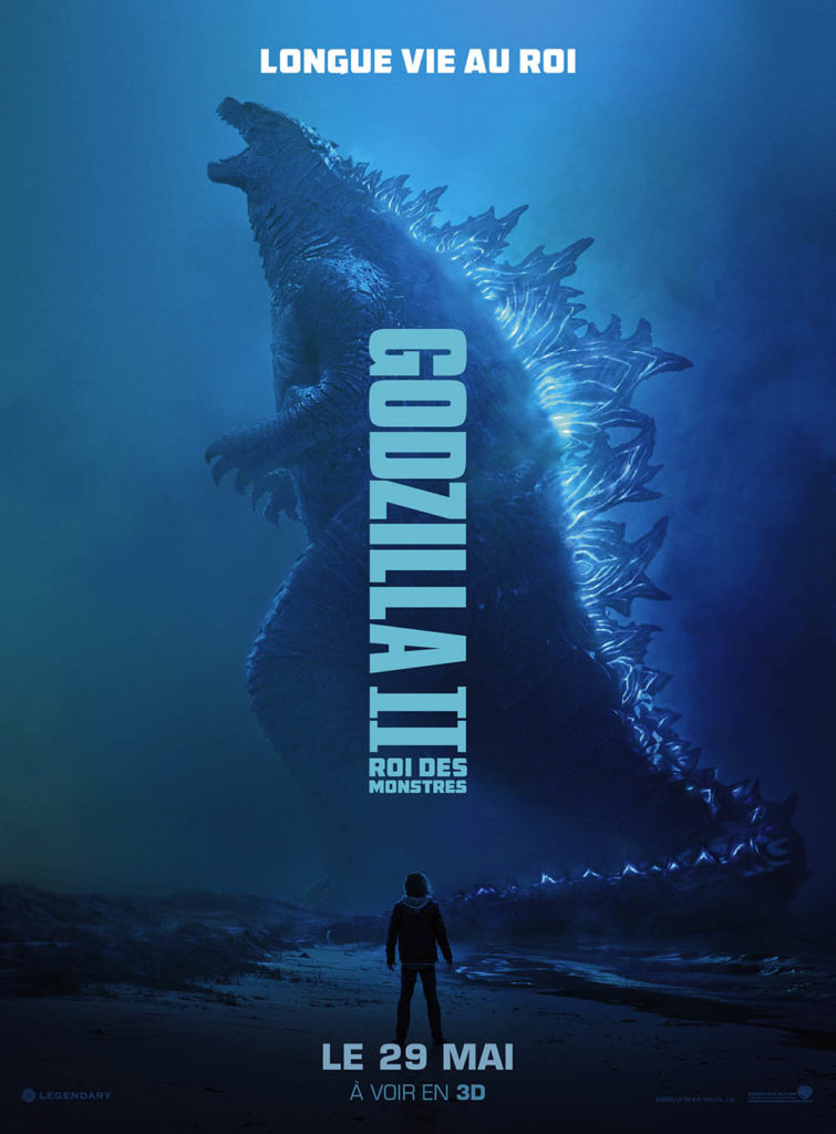 Affiche française de Godzilla II Roi des monstres