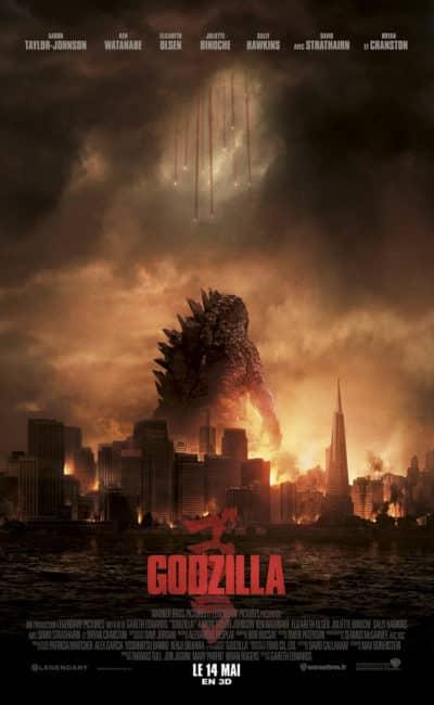 Godzilla de Gareth Edwards (2014)