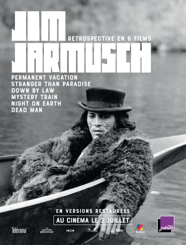 Jarmusch : affiche de la rétrospective