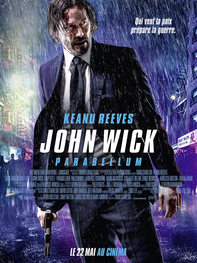 Affiche définitive John Wick 3 Parabellum