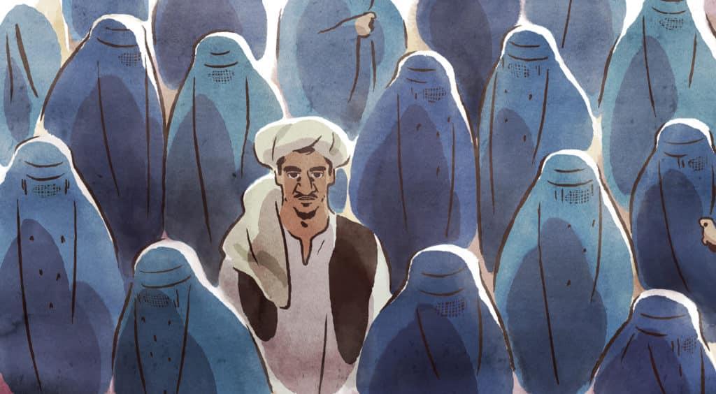Les hirondelles de Kaboul, distribué par Memento Films