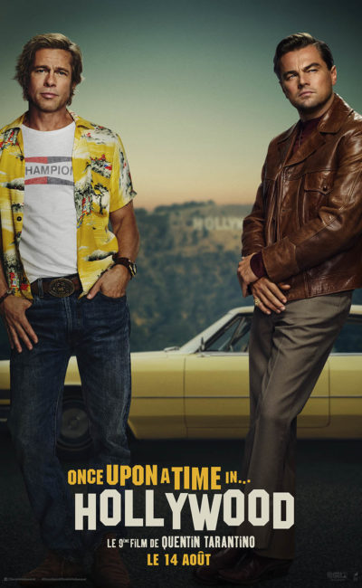 Affiche de Once Upon a Time In Hollywood de Quentin Tarantino