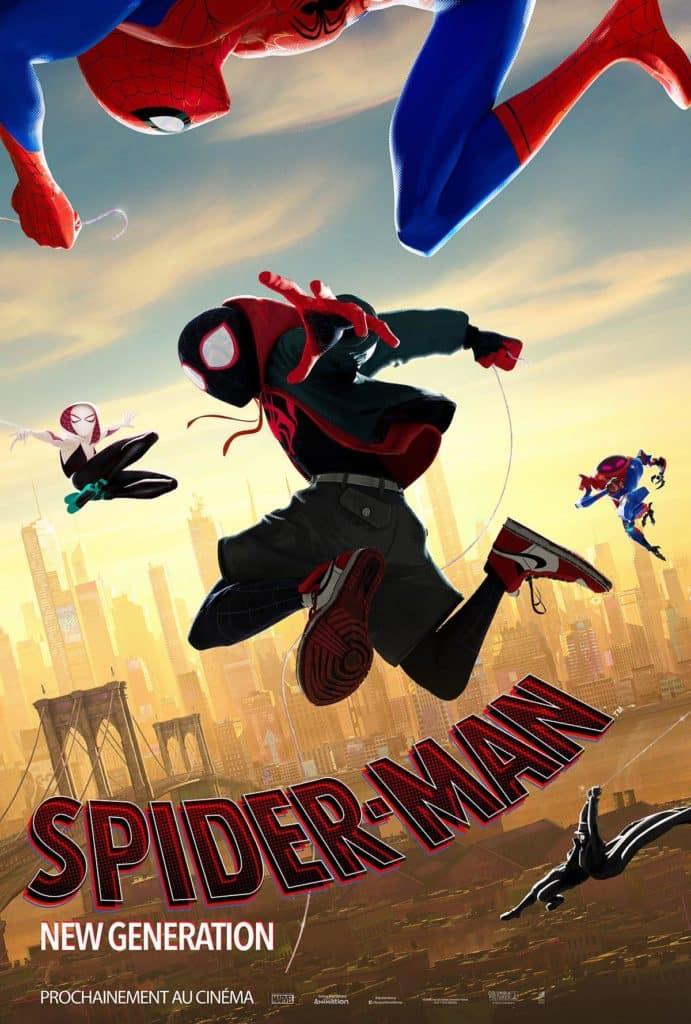 Affiche teaser Spider-Man New Generation