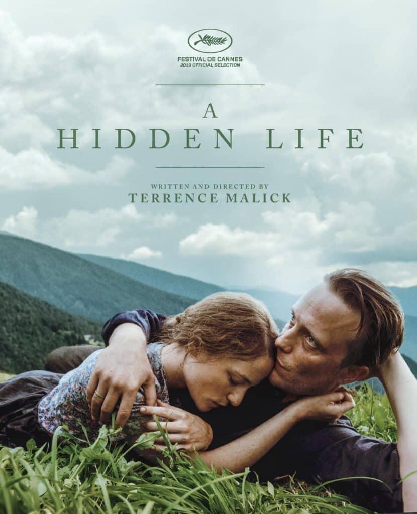 Affiche internationale de A hidden life