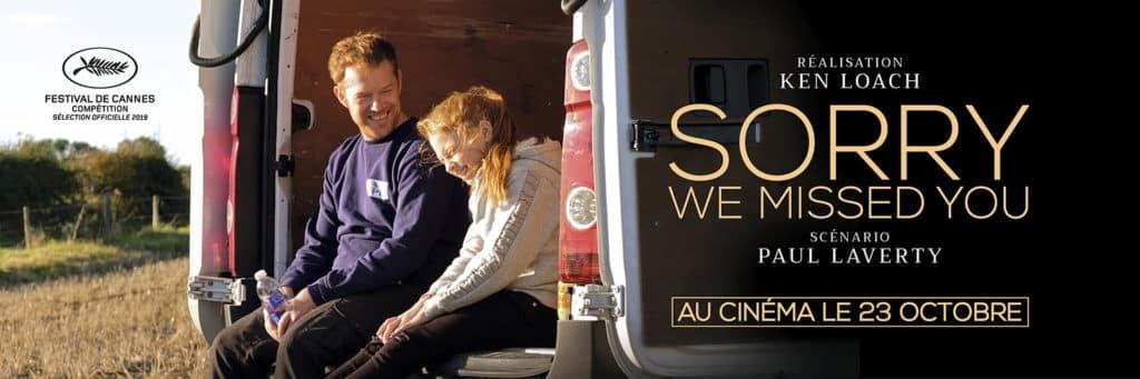 Sorry we missed you : le Ken, Loach cru 2019 banner
