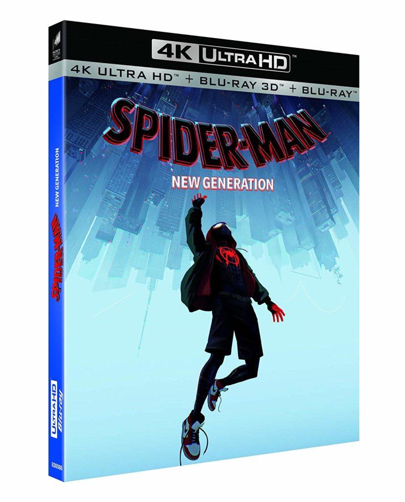 Jaquette de l'Ultra HD 4K de Spider-Man New Generation