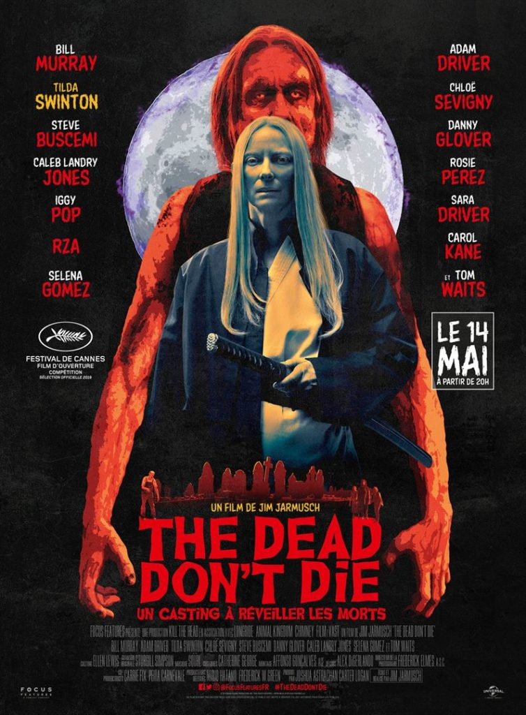 Affiche the dead don't die Tilda Swinton