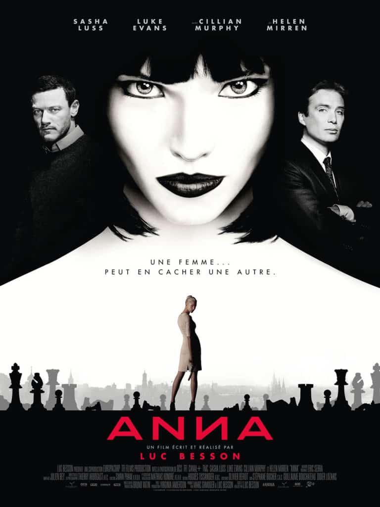 Anna de Luc Besson, affiche définitive