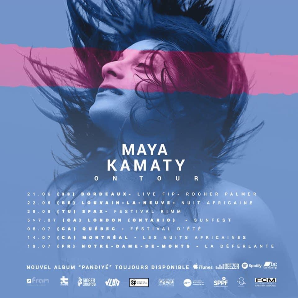 Maya Kamaty en concert