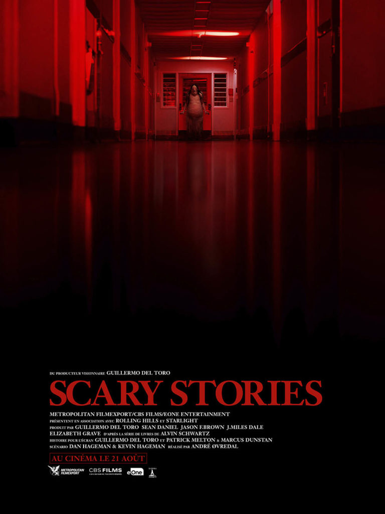 Scary Stories, affiche The Pale Lady