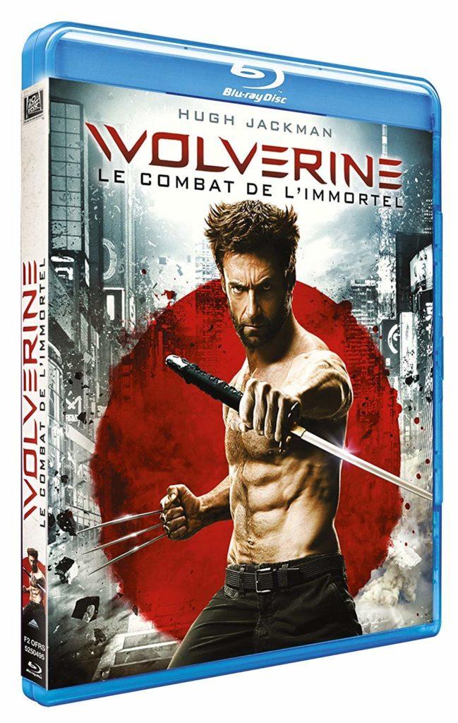 Wolverine le combat de l'immortel, jaquette blu-ray simple
