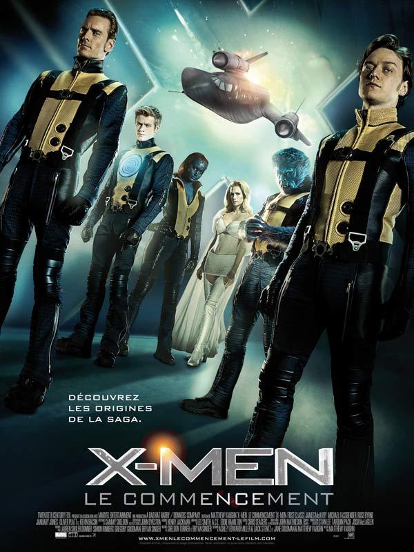 X-Men le commencement, affiche française