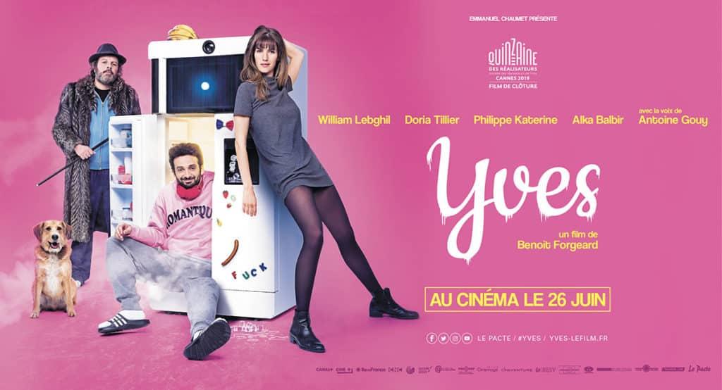 Bandeau de l'affiche du film Yves