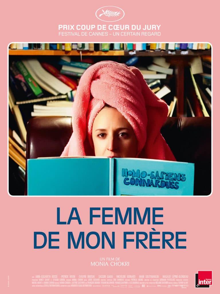 Anne-Elisabeth Bossé, dans la comédie fantasque La Femme de mon frère Affiche du film