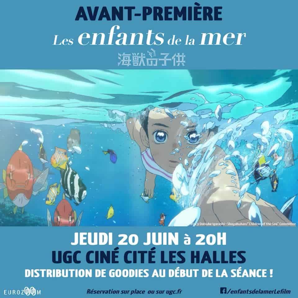 Les enfants de la mer en avant-première à l'UGC Ciné Cité les Halles