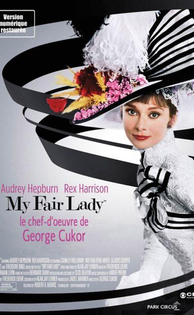 Affiche de la reprise 2017 de My Fair Lady