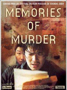 Memories of Murder, affiche originale 2004