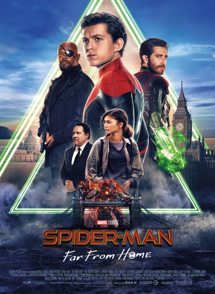 Spider-Man Far From Home, l'affiche définitive