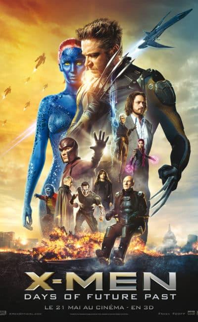 Affiche française de X-Men Days of Future Past