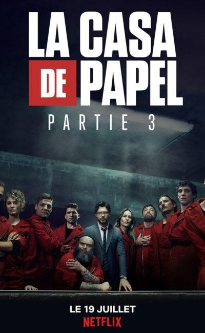La Casa de Papel saison 3, affiche Netflix officielle