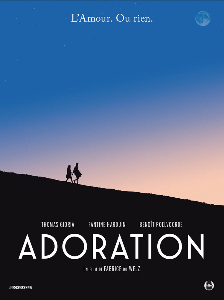 Affiche teaser du film Adoration de Fabrice du Welz