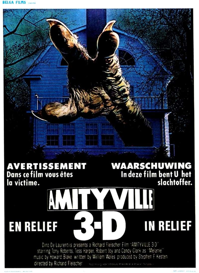 Amityville 3D, l'affiche belge