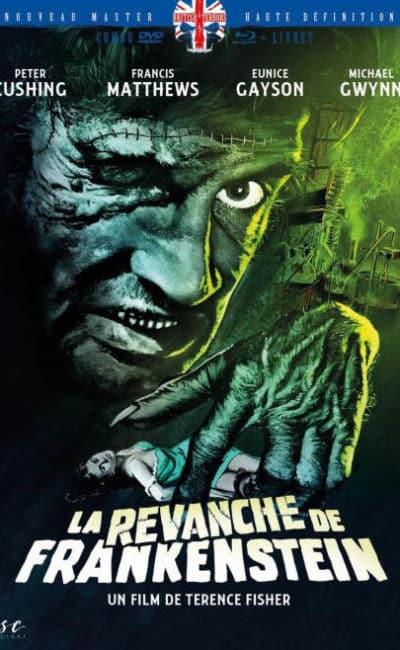 La revanche de Frankenstein, jaquette du Mediabook 2D