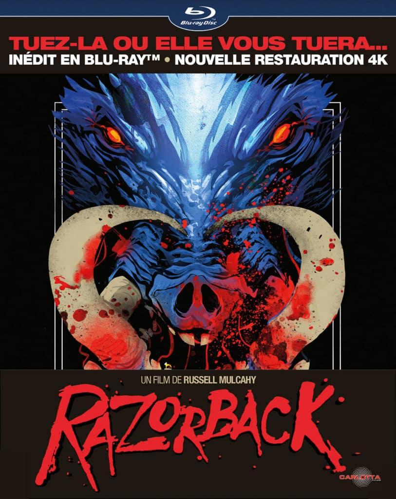 Razorback collector blu-ray