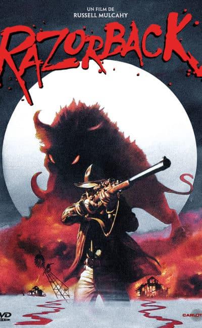 Jaquette DVD 2010 de Razorback chez Carlotta