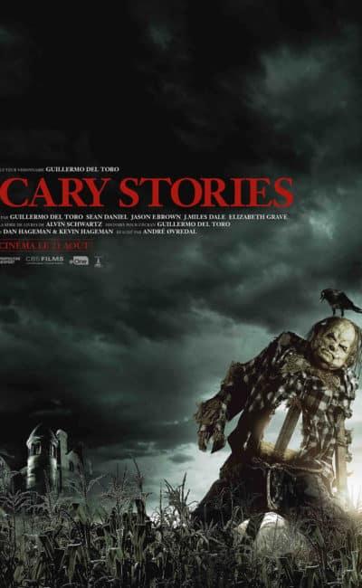 Scary stories de André Øvredal, l'affiche épouvantail