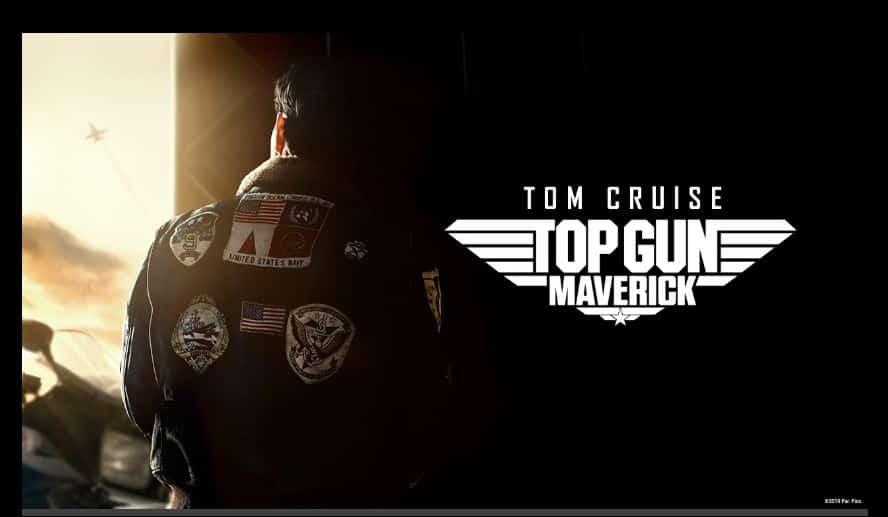 Top Gun Maverick logo première bande-annonce