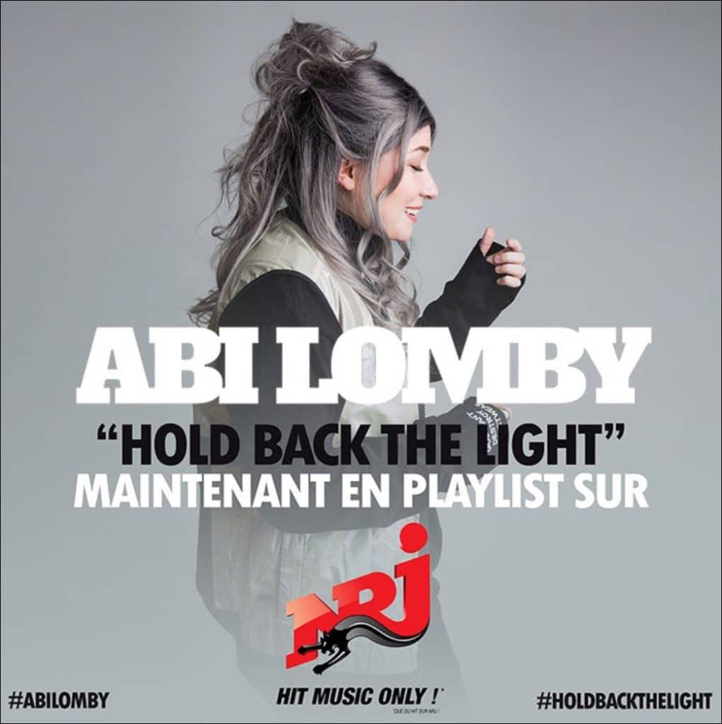 Abi Lomby en playlist sur NRJ