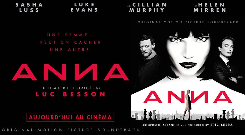 Bande-originale du film Anna de Luc Besson, par Eric Serra