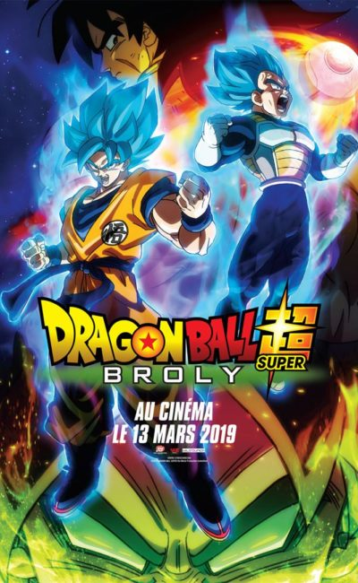 Affiche cinéma du manga Dragon Ball Super : Broly
