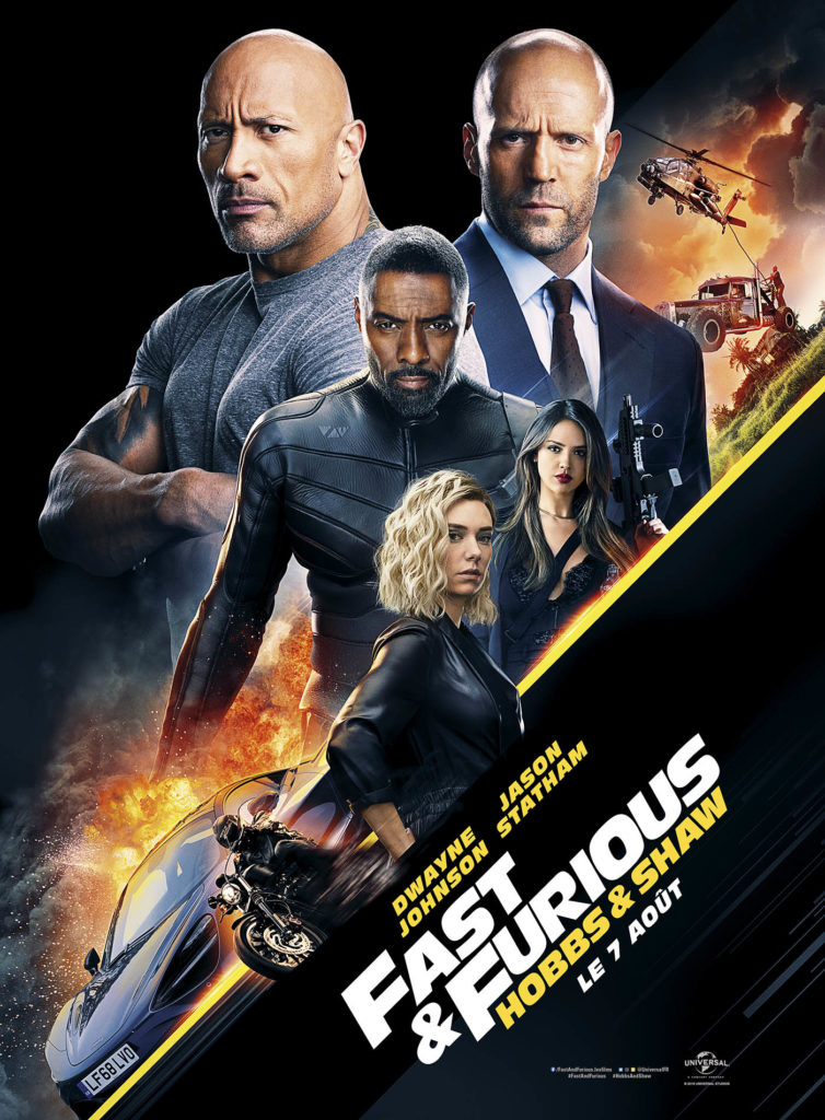 Affiche définitive fast and Furious Hobbs and Shaw