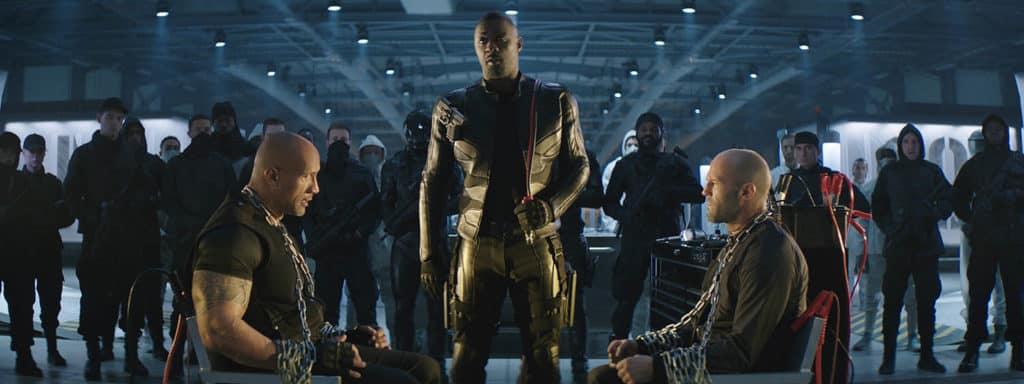 Idriss Elba, Dwayne Johnson et Jason Statham, duo d'enfer dans Hobbs & Shaw