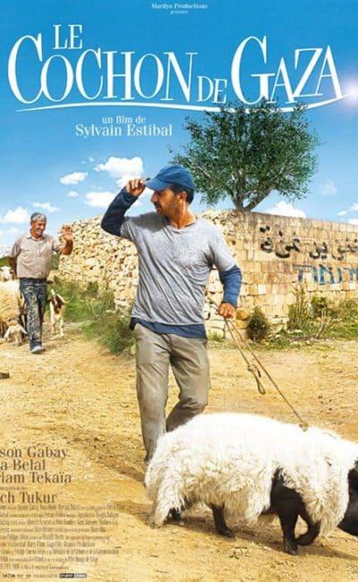 Affiche du Cochon de Gaza, de Sylvain Estibal