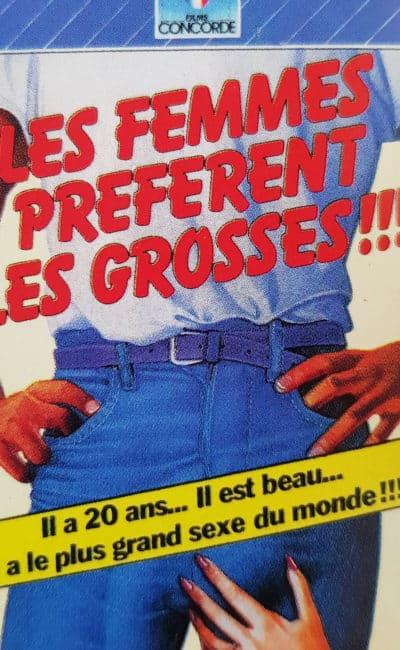 Jaquette Les Femmes préfèrent les grosses, édités en 1982