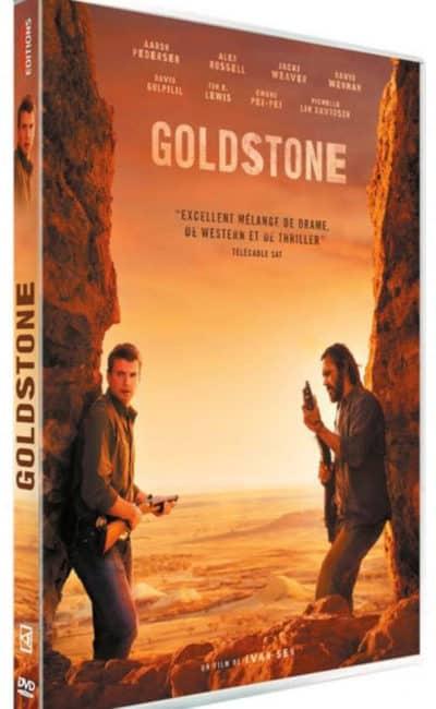 jaquette de Goldstone, suite de Mystery road pour sa sortie dvd