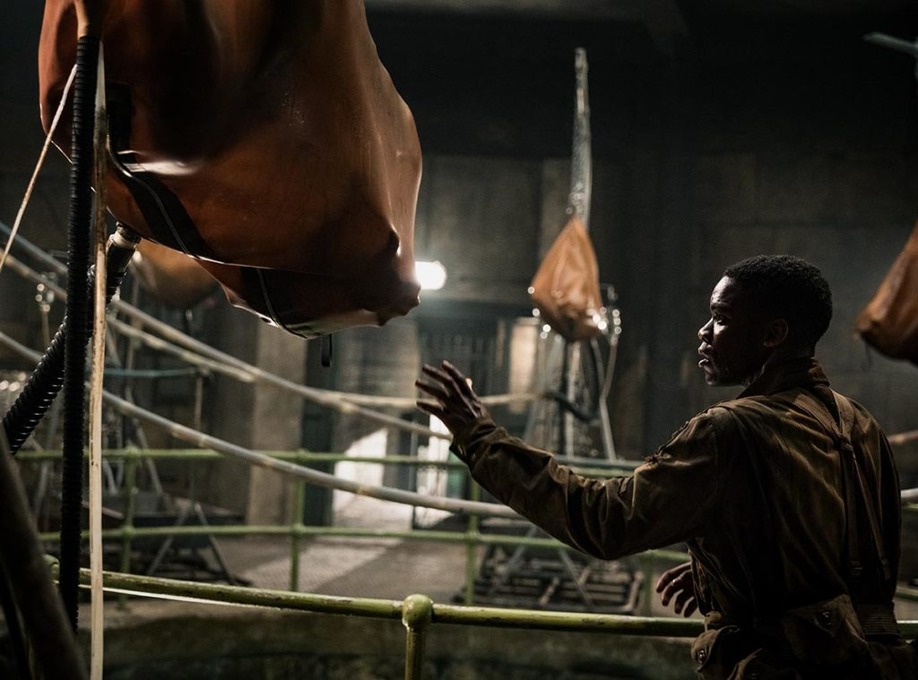 Jovan Adepo as Boyce in the film, OVERLORD by Paramount Picture