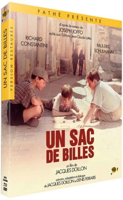 Un sac de billes de Jacques Doillon, jaquette blu-ray