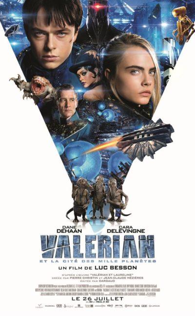 Valérian et la cité des mille planètes, affiche