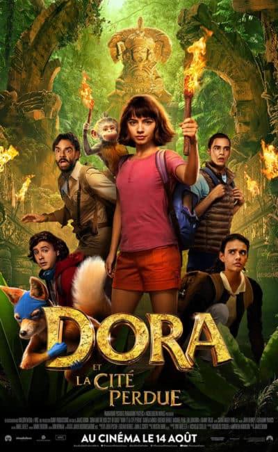 Affiche française de Dora et la cité perdue