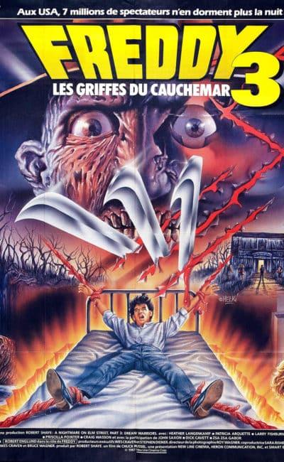 Affiche de Melki de Freddy 3 les Griffes du CAUCHEMAR