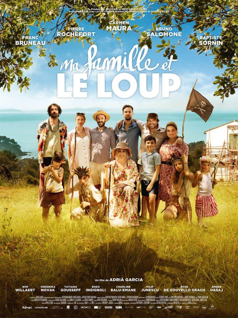 Ma famille et le loup, affiche du film