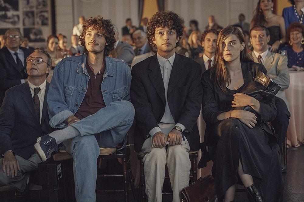 Giovanni Toscano, Mauro Lamantia et Irene Vetere dans Nuits magiques
