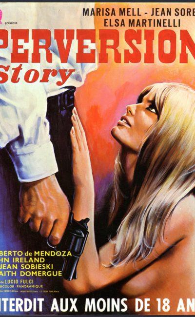 Affiche Perversion story Lucio Fulci